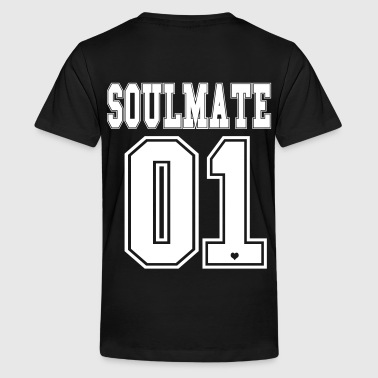 Soulmate BFF Soul Couple Mate Bro Best Friends 1c - Kids' Premium T-Shirt