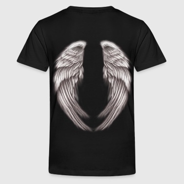 wings angelical - Kids' Premium T-Shirt