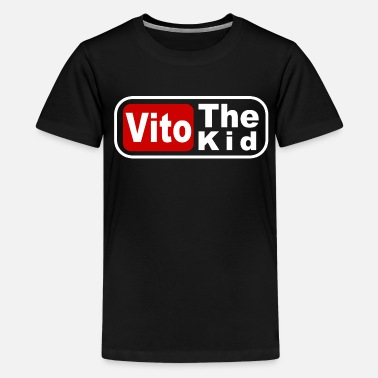 Kids Coffee Vito the Kid Coffee Mug - Kids' Premium T-Shirt