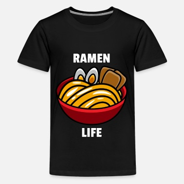 Kids Ramen Life Noodle Lovers Japanese Bowl Funny Gift - Kids' Premium T-Shirt