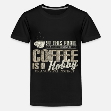 Morning Coffee hobby - Kids' Premium T-Shirt