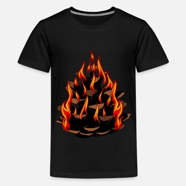 Australia Fire Nature Climate - Kids' Premium T-Shirt