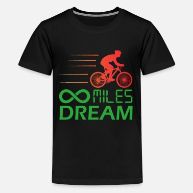 Storage Cycling T Shirt Infinity Dream Bicycle Bike - Kids' Premium T-Shirt