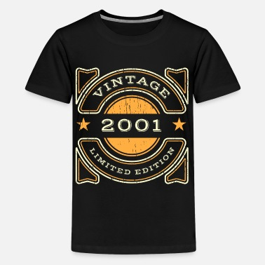 Born In September Retro Vintage 2001 Birthday Limited Collection - Kids' Premium T-Shirt
