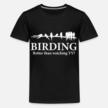 Bird Watching Birder Birding Gift Idea - Kids' Premium T-Shirt
