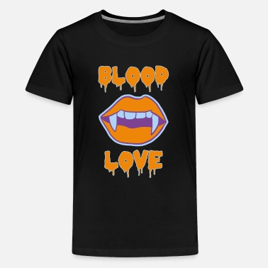 Sexy Lips Sexy Hallowenn Lips Blood Love Kiss Hot - Kids' Premium T-Shirt