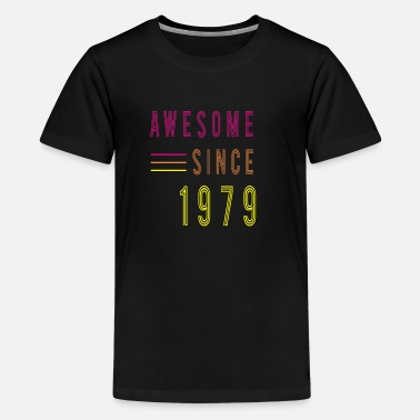 Classical Awesome Since 1979 Birthday Retro - Kids' Premium T-Shirt