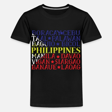 Country Philippines filipina Ancestry gift idea - Kids' Premium T-Shirt