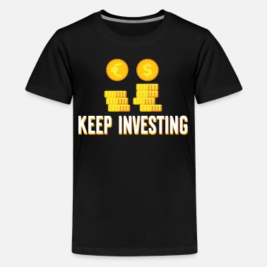 Banker Investing Money Investment Trader Cool Gift - Kids' Premium T-Shirt