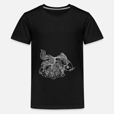 Goldfish Fish Koi carp - Kids' Premium T-Shirt