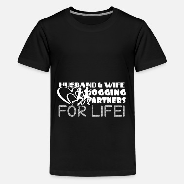 Marathon Jogging partner - jogging love - Kids' Premium T-Shirt