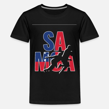 World Samoa Rugby 2019 Fans Kit for Samoan Supporters, - Kids' Premium T-Shirt