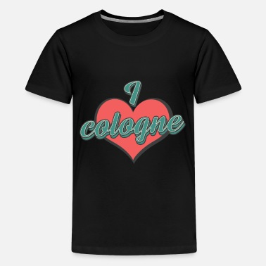 Cologne Cathedral I love Cologne City Germany - Kids' Premium T-Shirt