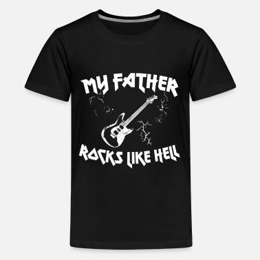 Egitar Guitarist Proverbs I Papa with Egg Guitar - Kids' Premium T-Shirt