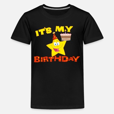 Birthday It's My Birthday Star - Kids' Premium T-Shirt