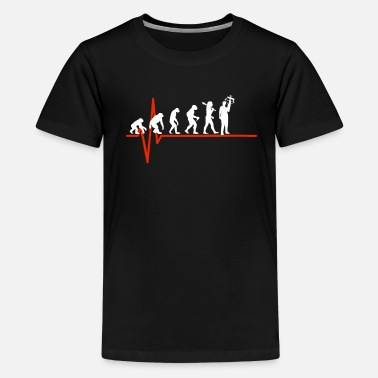 Crossbow Crossbow Heartbeat - EVOLUTION OF CROSSBOW - Kids' Premium T-Shirt