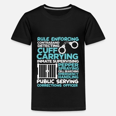 Swat Correction Officer Police Man Job law enforcement - Kids' Premium T-Shirt