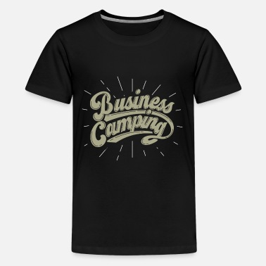 Adult business camping - Kids' Premium T-Shirt