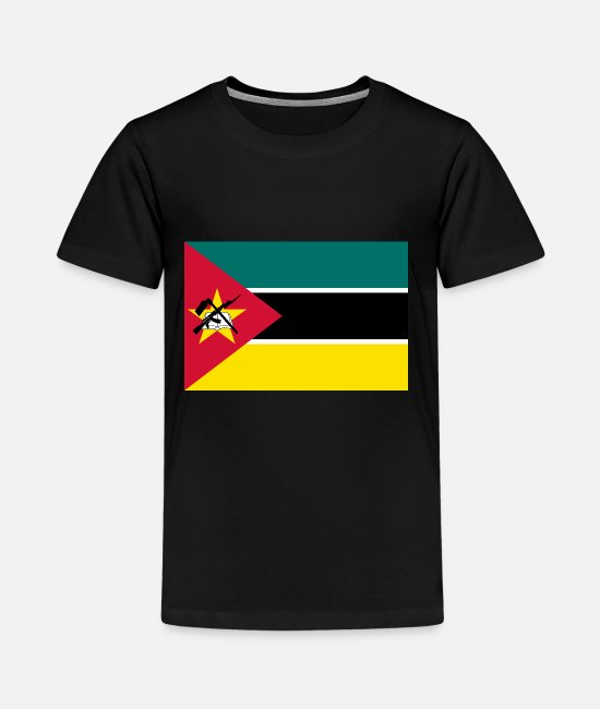 National T-Shirts - Mozambique country flag love my land patriot - Kids' Premium T-Shirt black