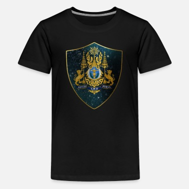 Cambodia Cambodia Coat of Arms - Kids' Premium T-Shirt