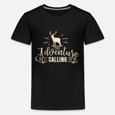 Explorer Adventure Is Calling Travel Explore Vacation - Kids' Premium T-Shirt