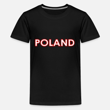 National Colours Poland - Polen - Polska - National Colors - Europe - Kids' Premium T-Shirt