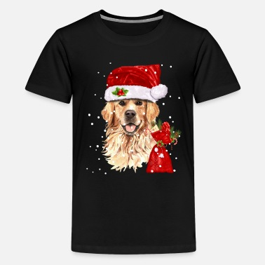 Golden Retriever Christmas Shirt Funny Xmas Gift - Kids' Premium T-Shirt