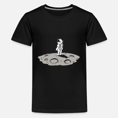 Heavenly Astronaut on the moon - Kids' Premium T-Shirt
