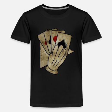 Man Poker Hand T-Shirt & Gift Idea - Kids' Premium T-Shirt