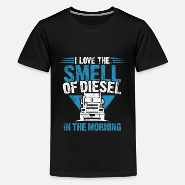 Gas Station Truck Gift Idea diesel - Kids' Premium T-Shirt