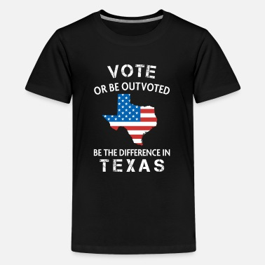 Local Texas Voter Quote Difference Election Vote 2020 - Kids' Premium T-Shirt