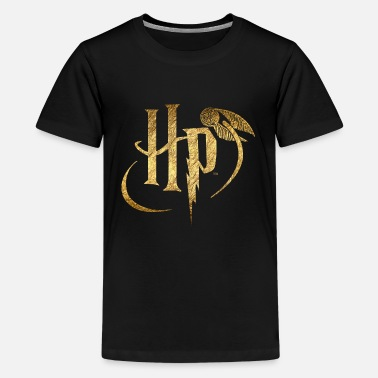 Harry Potter Logo Gold - Kids' Premium T-Shirt