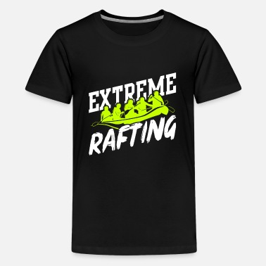 Recreational Rafting Raft - Kids' Premium T-Shirt
