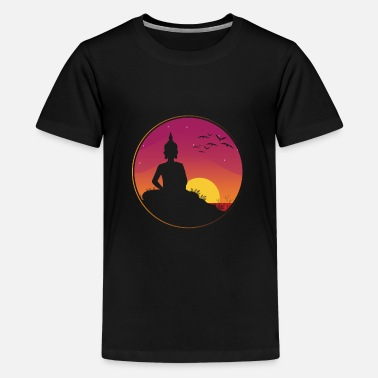 Spiritual Thailand Buddha Travel Vacation - Kids' Premium T-Shirt