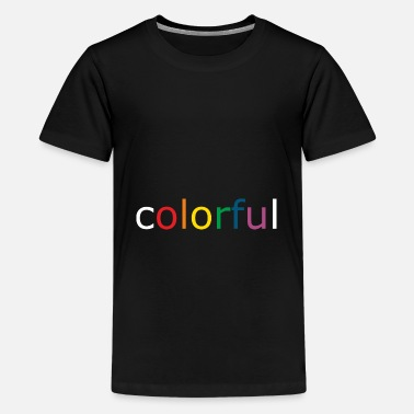 Paint Brush colorful - Kids' Premium T-Shirt