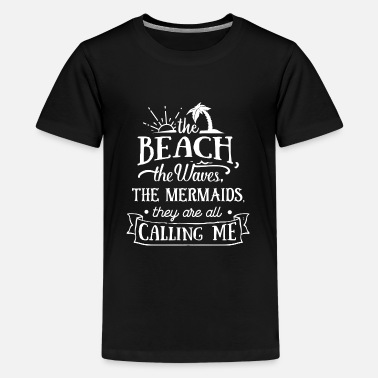 Lake The Beach The Waves Summer Sun Sunshine Love - Kids' Premium T-Shirt