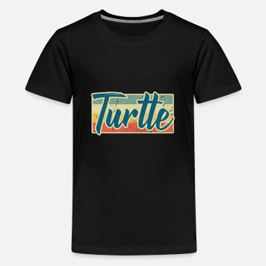 Turtle Doves Turtle Animal Rights Turtle Doves Sea Turtle Gift - Kids' Premium T-Shirt