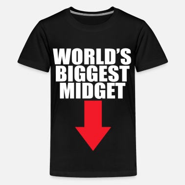 Midget World s biggest midget - Kids' Premium T-Shirt