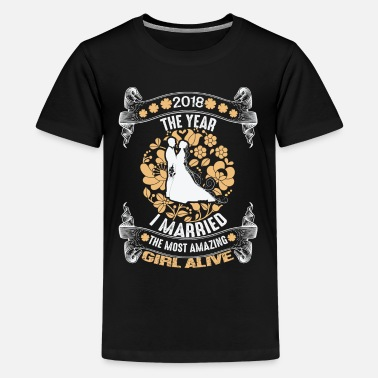 Holland I married the most amazing girl shirt married 2018 - Kids' Premium T-Shirt
