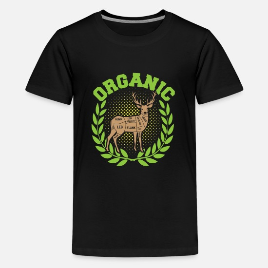 Earth Day T-Shirts - Organic Hunting - Kids' Premium T-Shirt black