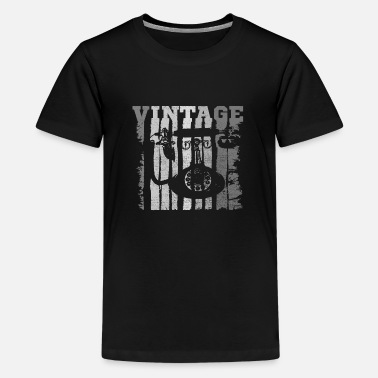 Telephone Vintage Telephone' Antique Style 80's Phone - Kids' Premium T-Shirt