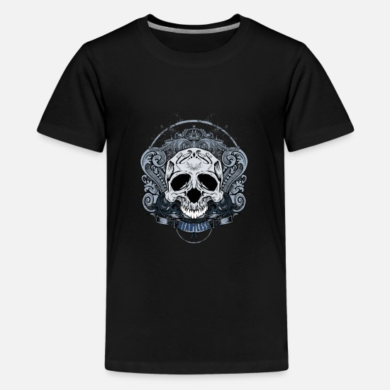 Trick Or Treat T-Shirts - Heartless Skull - Kids' Premium T-Shirt black