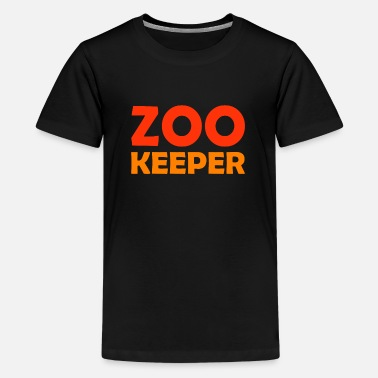 Teacher Zoo Keeper Animal Lover Career - Kids' Premium T-Shirt