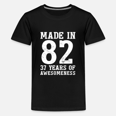 37 Number Made in 1982 37 Years of Fascination - Kids' Premium T-Shirt