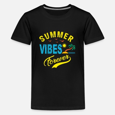 Sunlight Summer Vibes Forever - Kids' Premium T-Shirt