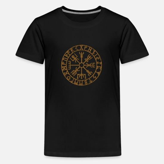Gift Idea T-Shirts - Vikings Scandinavian Warriors Gift Idea - Kids' Premium T-Shirt black