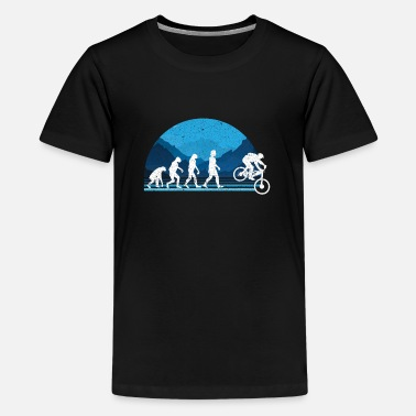 Evolution Downhill Mountain Bike MTB - Kids' Premium T-Shirt