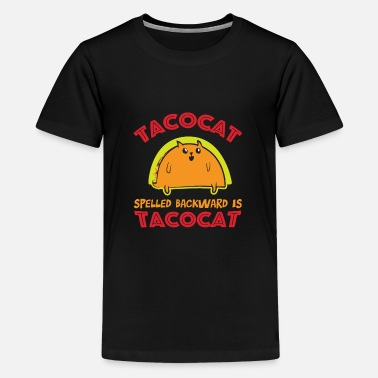 Cat taco cat - Kids' Premium T-Shirt