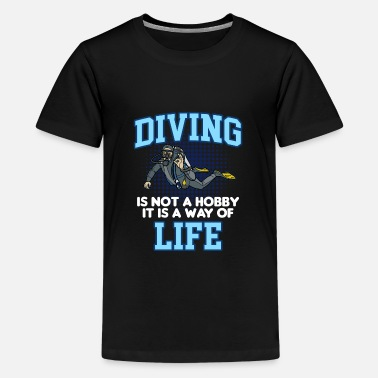 Deep Sea Diver DIVING LIFE Funny Deep Sea Diver - Kids' Premium T-Shirt