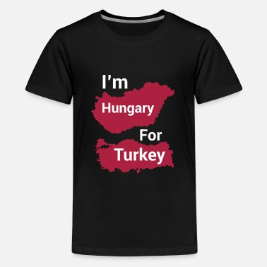 Customized I'm hungary for turkey new style Tee shirt design - Kids' Premium T-Shirt